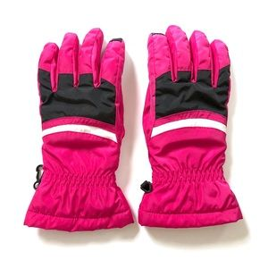 Lands' End Fuchsia Pink Women's Fall Winter Gloves